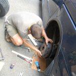 Монтаж на автомобилни гуми с вътрешна гума